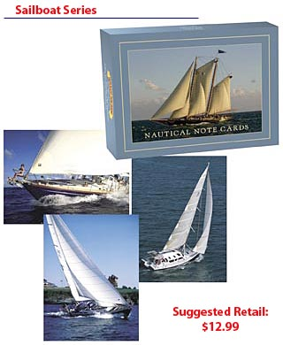 Sailbot Note Card Series